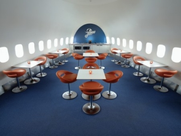 Jumbo Stay Hostel lounge - Stockholm