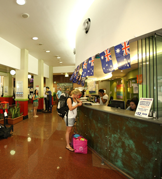 Sydney Central YHA Reception