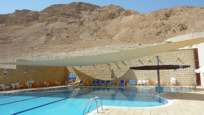 Israel Hostel pool