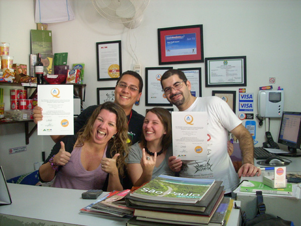 Sampa Hostel HI-Q Certification