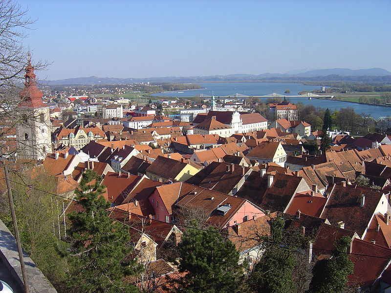 Ptuj in Slovenia (Author Husond)
