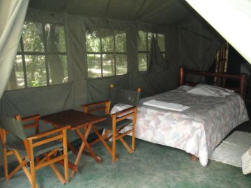 Enchoro Wildlife Camp sleeping