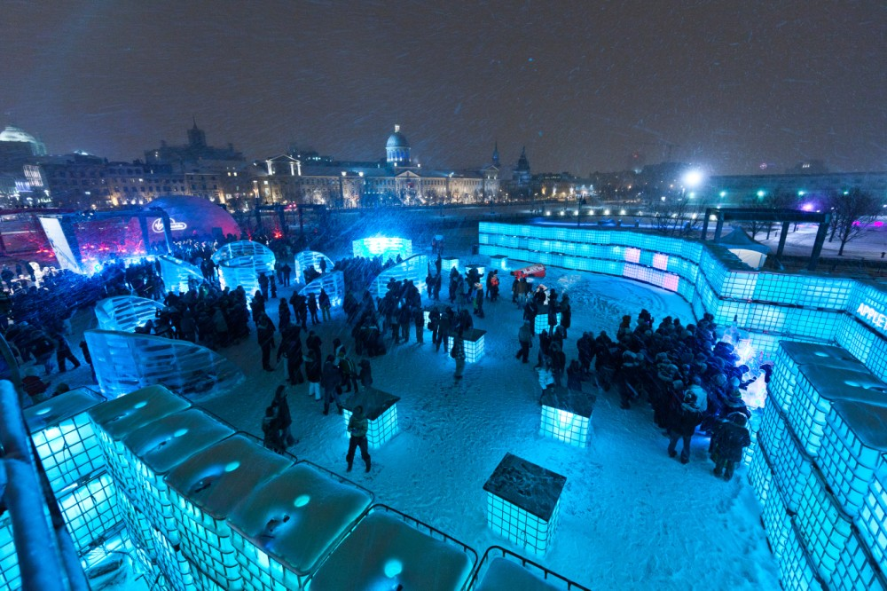Igloofest in Montreal
