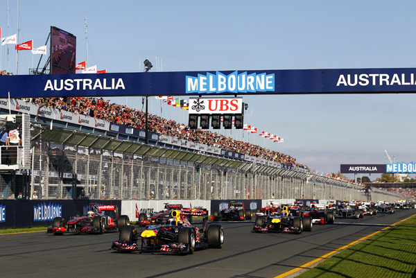 Formula 1 Racing in Melbourne