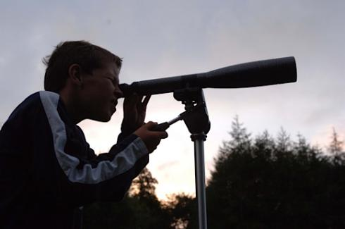 Star gazing from the Forestry Commission Scotland