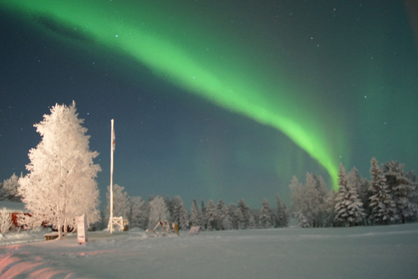 Finland Visatupa northern lights