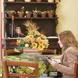 img32265-Florence-Tavarnelle-Chianti-YH-guest-reading-table