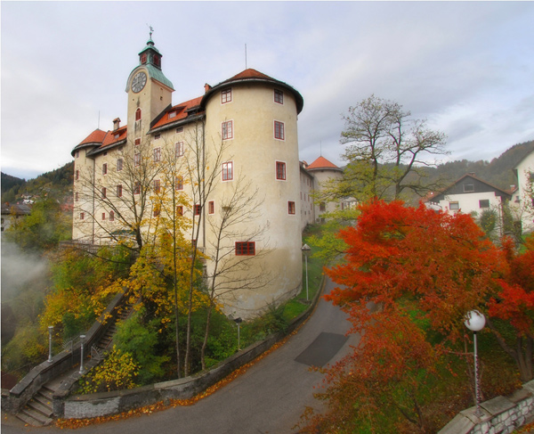Castle Gewerkenegg, Idrija (Author-Jani Peter)