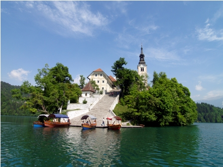 Bled, the Island (Author-Klemen Kunaver)