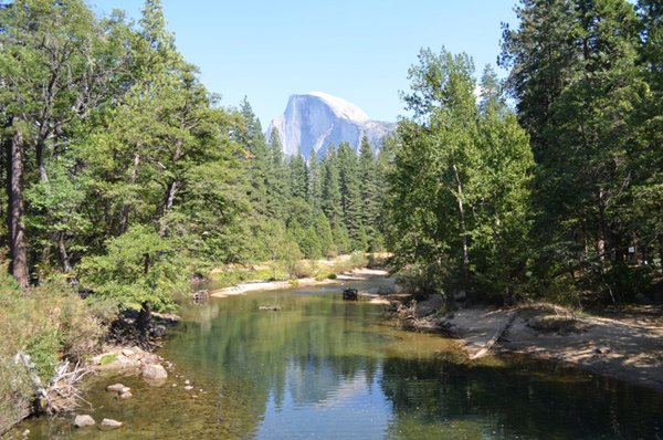 Yosemite with El Capitan in the background