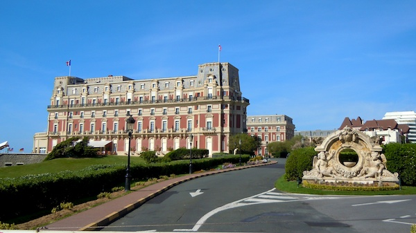 Hotel du Palais, The Bay of Biscay, Biarritz France