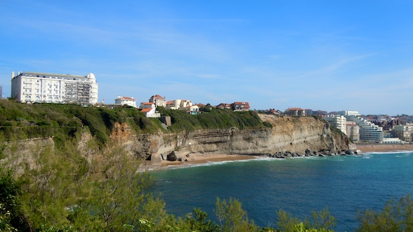 The Cliffs, The Bay of Biscay, Biarritz France