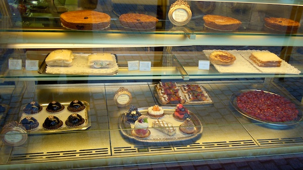 Basque chocolate shop, bakery, Biarritz France