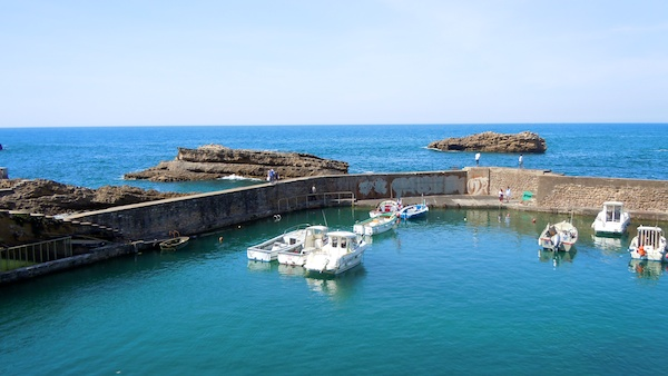 Old Harbor, The Bay of Biscay, Biarritz France