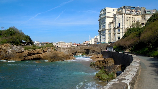 Esplanade, The Bay of Biscay, Biarritz France