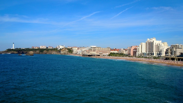 Beach Casino Lighthouse, The Bay of Biscay, Biarritz France