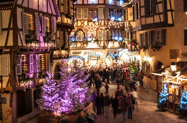 Strasbourg France Christmas Time.Six Of The Most Magical Cities At Christmas Time