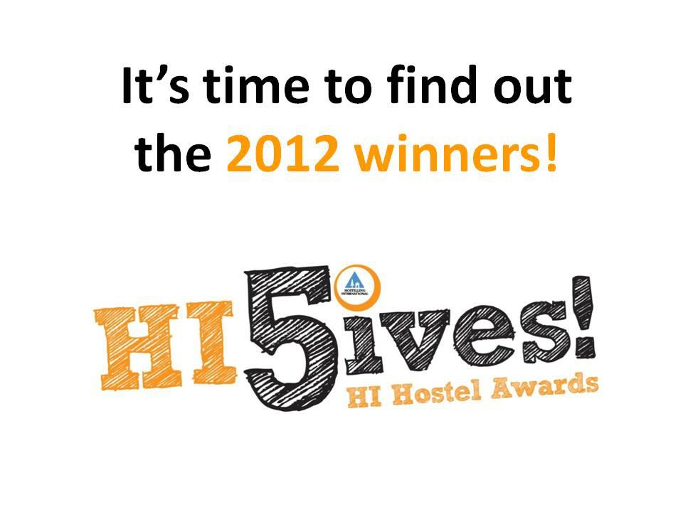 Hostelling International HI-5ive Awards