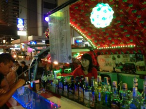 Pocket Money bar in Silom, Bangkok