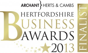 Hertfordshire Business Awards logo