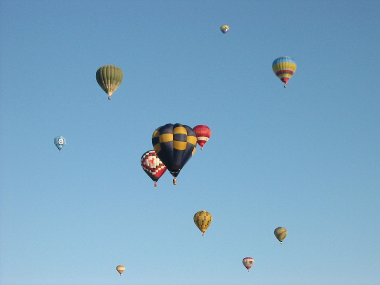 Hot air ballooning over Devon
