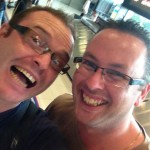 Bloggers Lance and David van den Heever-Liebenberg