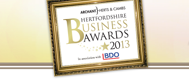 Hertfordshire Business Awards 2013 logo