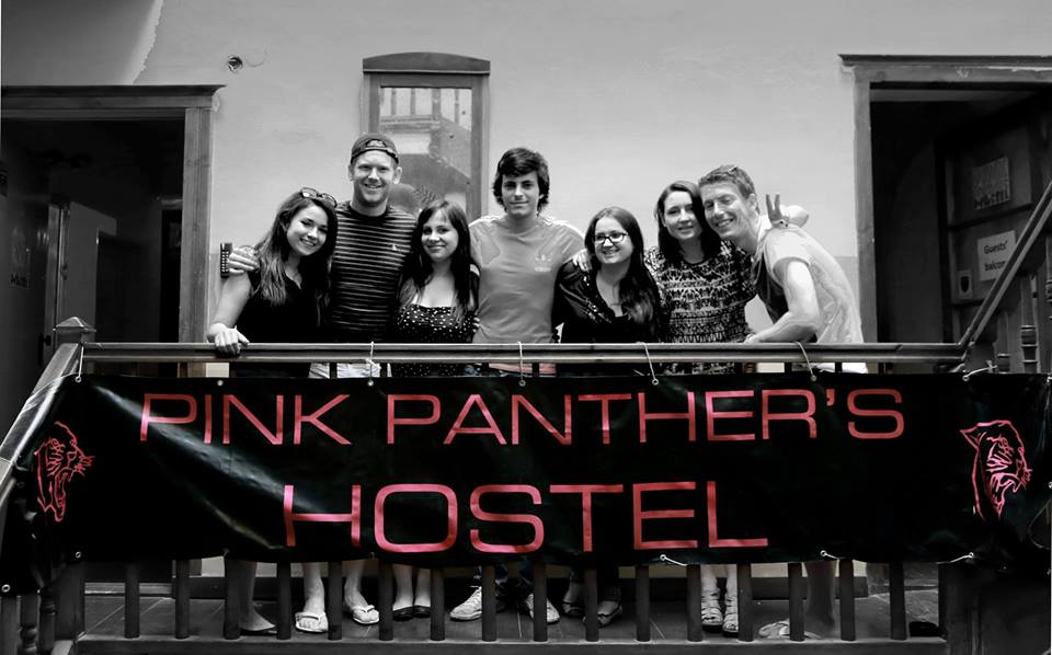 Pink Panther Hostel staff