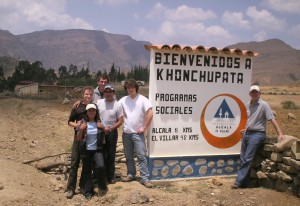 Volunteers in Bolivia
