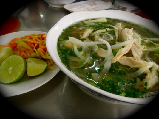 Pho Ga (chicken noodle)
