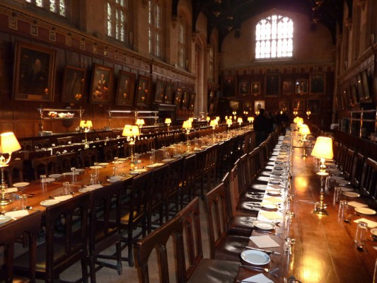 Oxford University's Great Hall