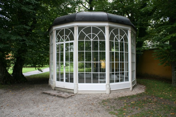 The famous gazebo from The Sound of Music