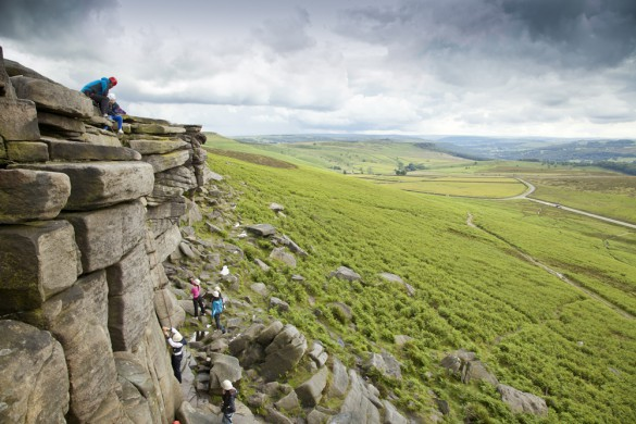 Trek through rugged moorland at YHA Edale