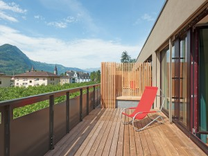 Interlaken Youth Hostel terrace