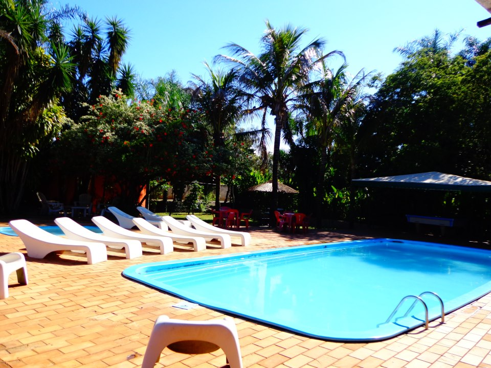 Paudimar Campestre Hostel's swimming pool