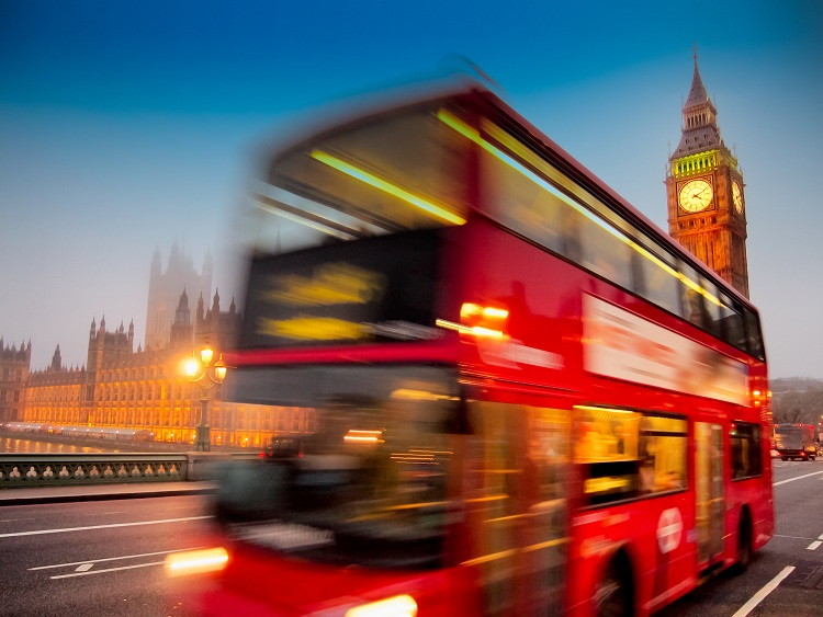 Travel by bus in London