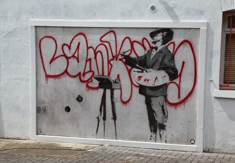 Banksy at Notting Hill, London
