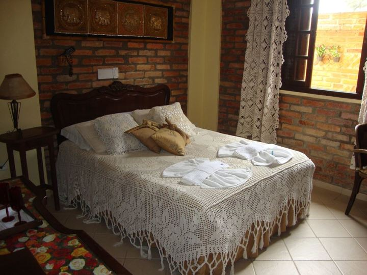 Pamper yourself in Brazil's rustic, plush HI Laranjeiras Hostel on the Parana coast.