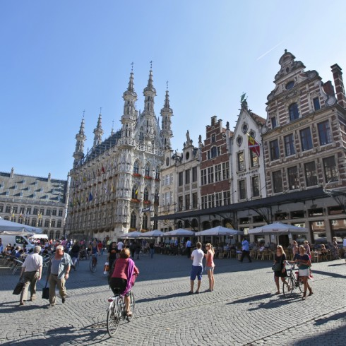 Leuven historic city centre