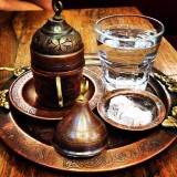 Traditional Turkish tea