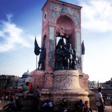 Monument of the republic - Taksim Square