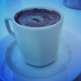 Turkish coffee. Yum.