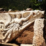 Ruin of the goddess Nike from Ephesus