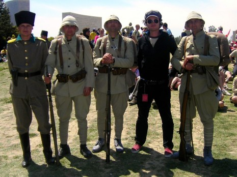 Charming the Local Military at Gallipoli