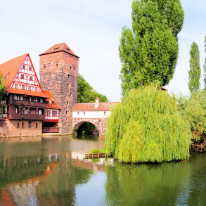 Medieval city of Nuremberg