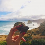 Adriano Zumbo Tim Tams at the 12 apostles lookout, Great Ocean rd.