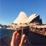 The highly requested Tim Tam at Australia's most iconic landmark, Sydney Opera House.