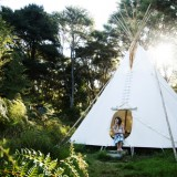 Enjoy a teepee retreat from December to April