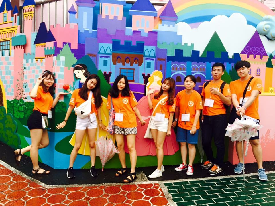 Hostelling in Incheon (Fairy tale village)