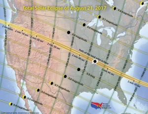 2017 eclipse path of totality